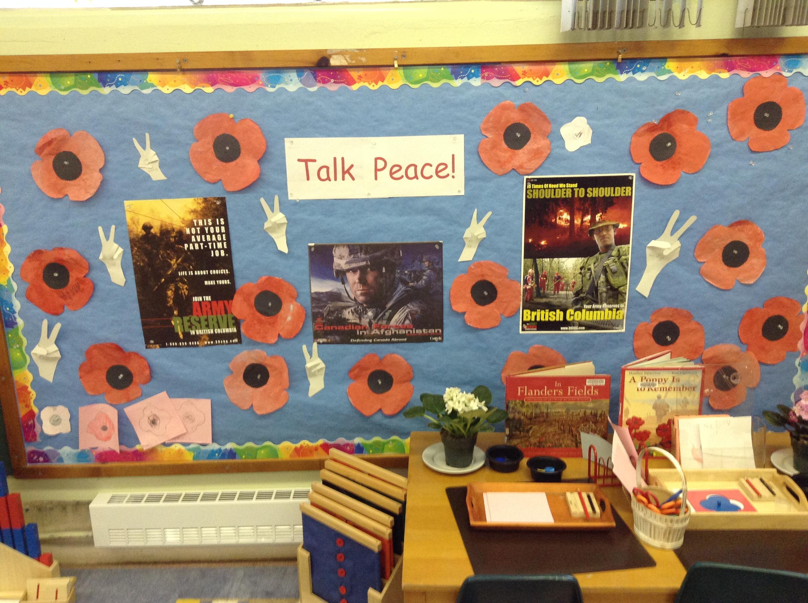Talk Peace!海外の保育ボランティア先で平和についてのお話