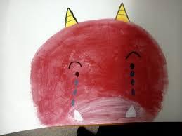海外保育ボランティアで子供達のために紙芝居を実践!Red Ogre Cry  (泣いた赤鬼)