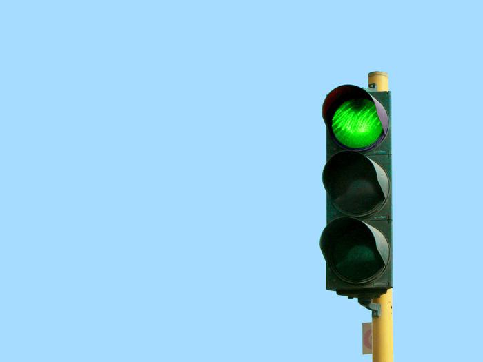 保育園のお散歩タイム!「Green light, Red light」ゲーム