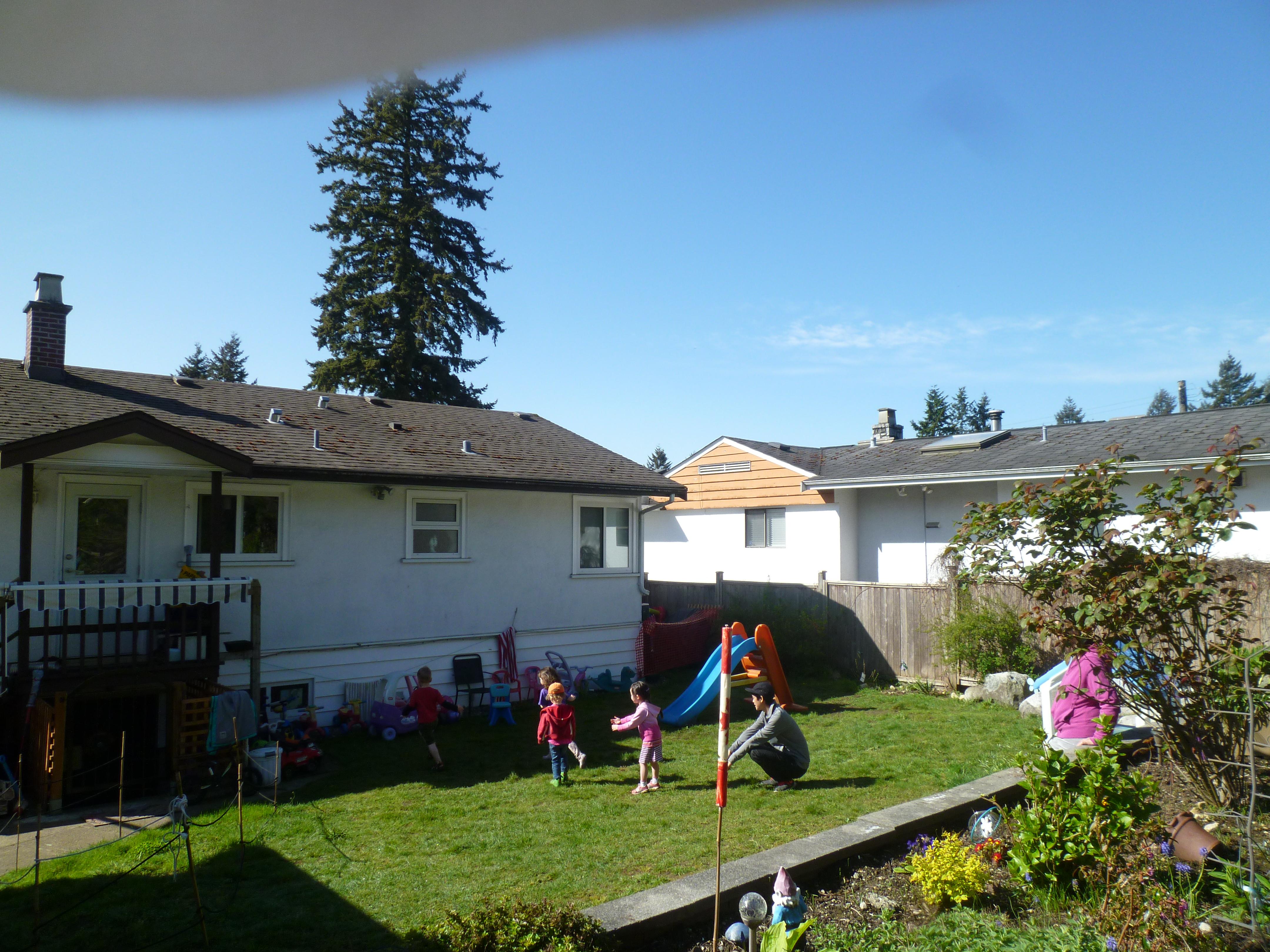 海外の保育園でボランティア!天気の良い日の遊び方