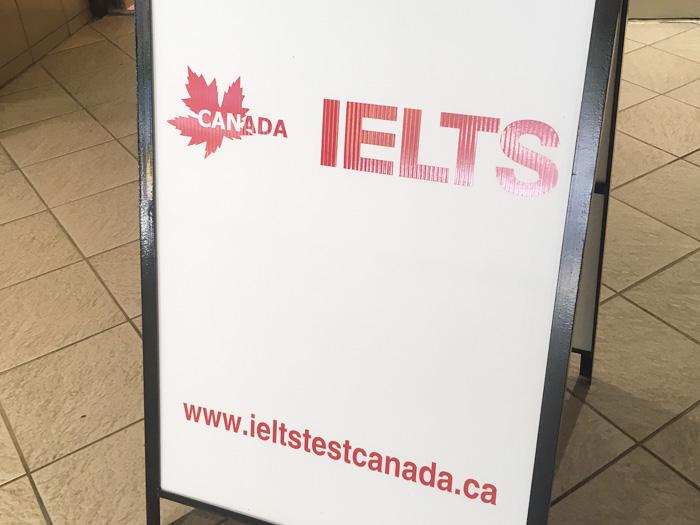 カナダで留学や移民の時に必要なIELTSを受けてきました!