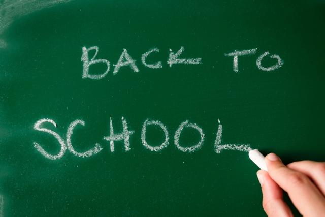 Back to School!!9月は新しい出会いの季節です